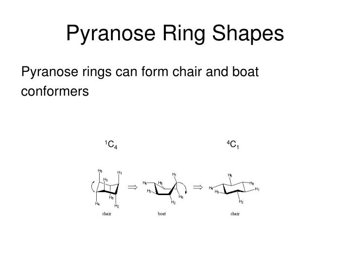 Pyranose Ring Shapes