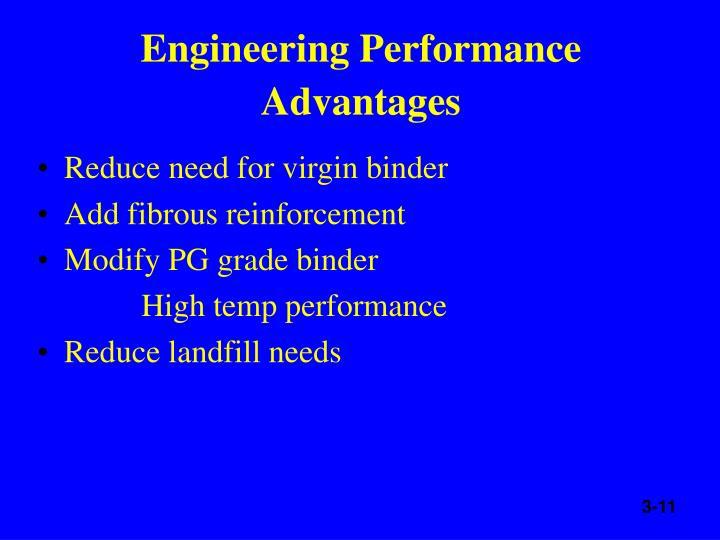 Engineering Performance Advantages