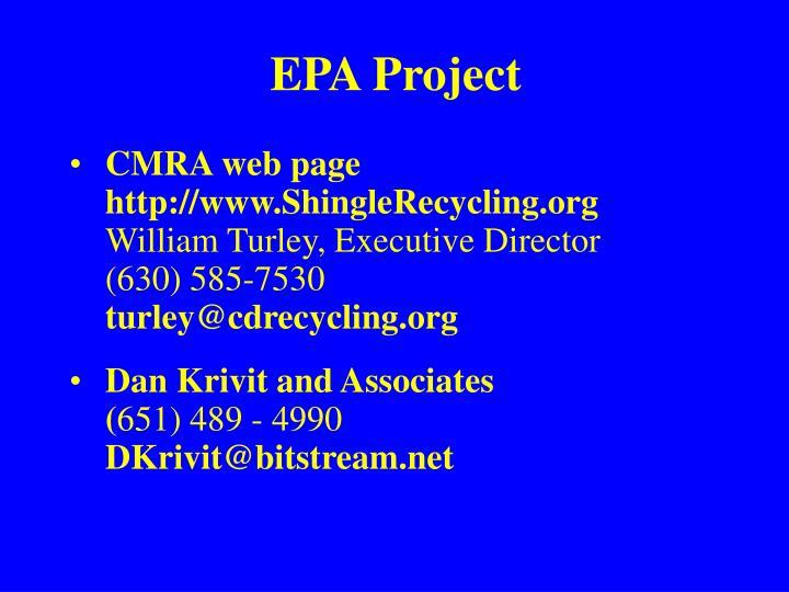 EPA Project