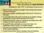 why reading science fiction enhances the 481 learning experience