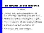 breeding for specific resistance2