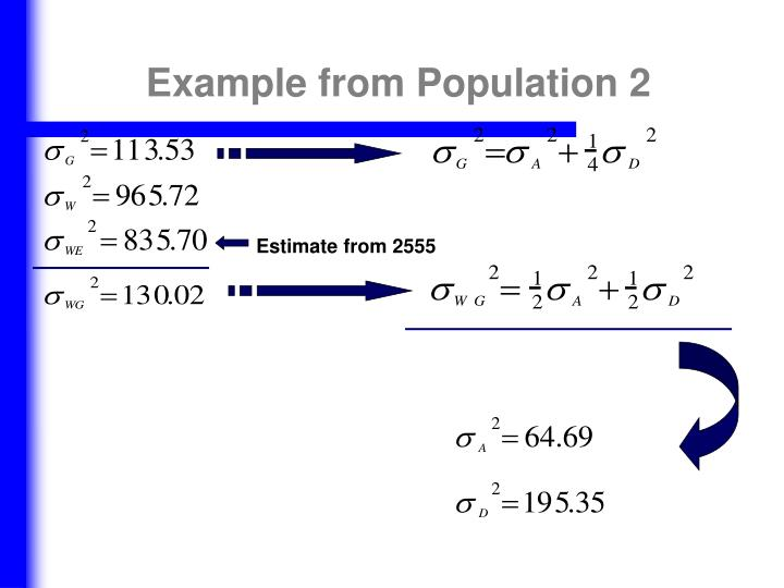 Example from Population 2