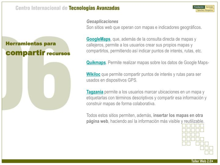 Geoaplicaciones