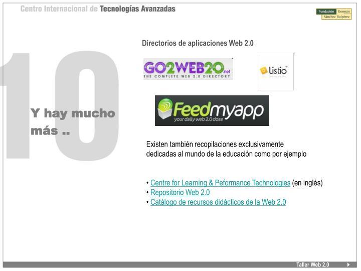 Directorios de aplicaciones Web 2.0