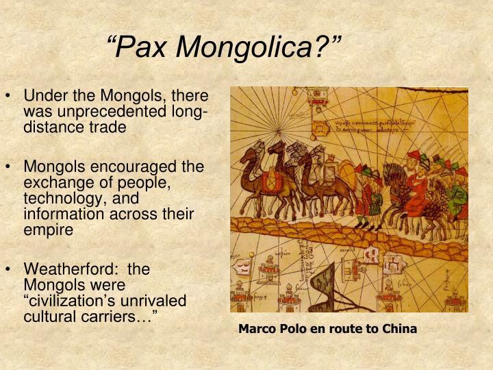 """Pax Mongolica?"""
