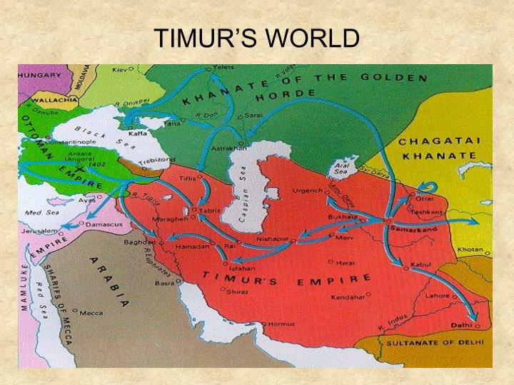 TIMUR'S WORLD