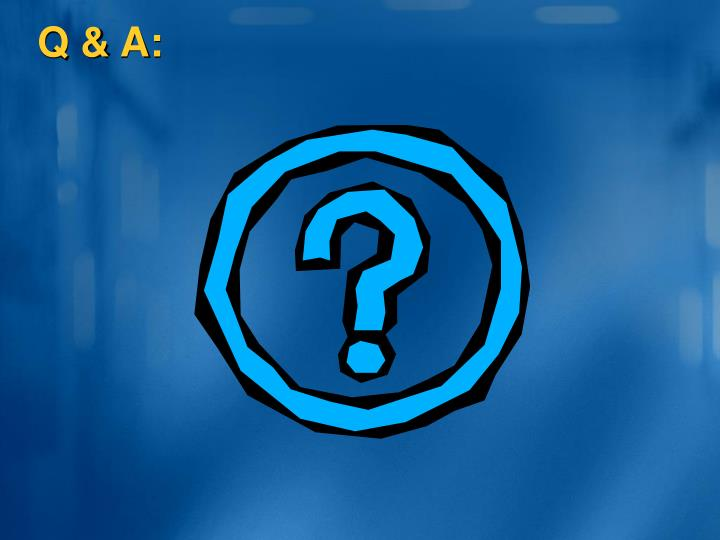 Q & A: