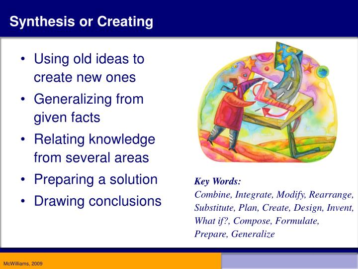 Synthesis or Creating
