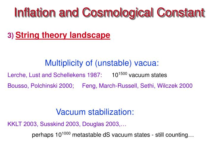 Inflation and Cosmological Constant
