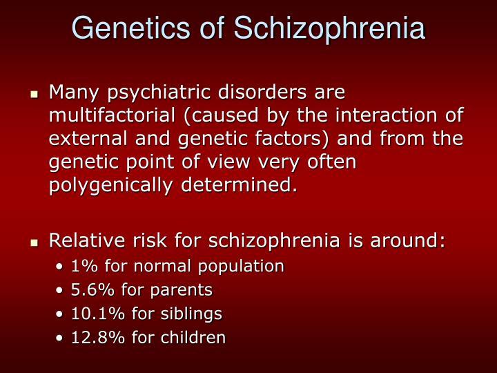 Genetics of Schizophrenia