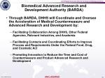 biomedical advanced research and development authority barda1