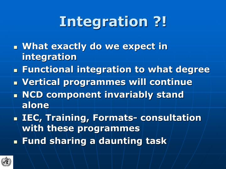 Integration ?!
