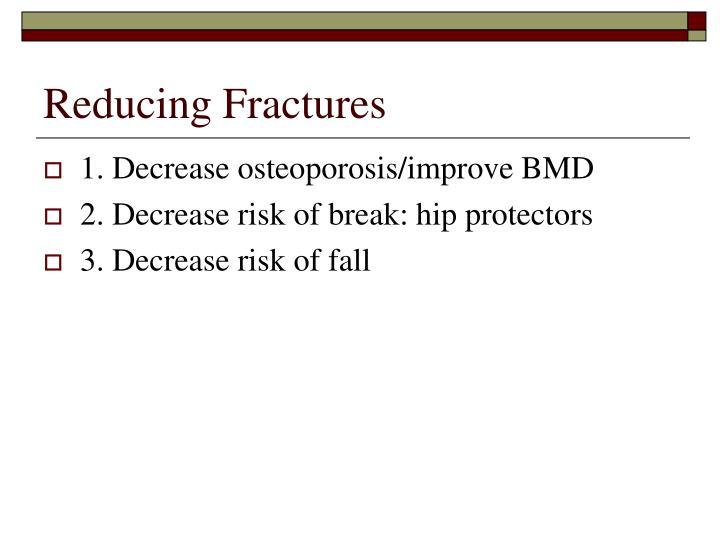 Reducing Fractures