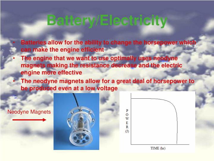 Battery/Electricity
