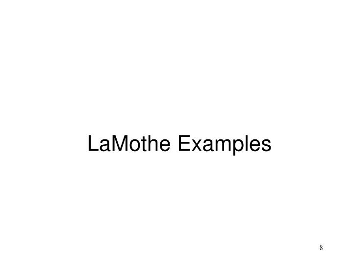 LaMothe Examples