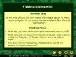 fighting segregation