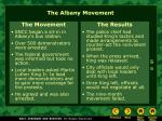 the albany movement