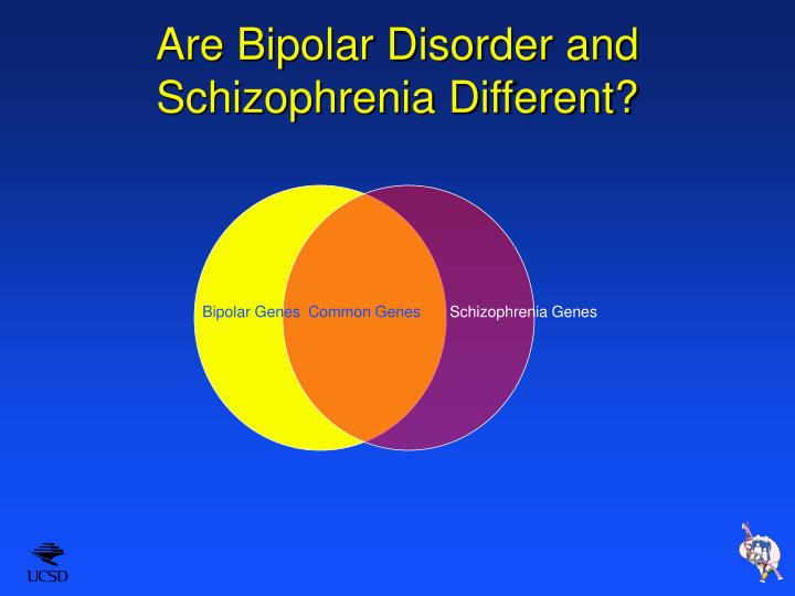 Are Bipolar Disorder and Schizophrenia Different?