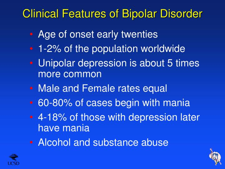 Clinical Features of Bipolar Disorder