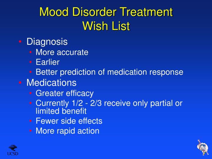 Mood Disorder Treatment