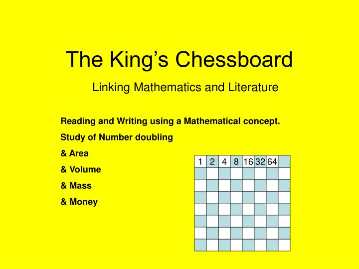 the king s chessboard