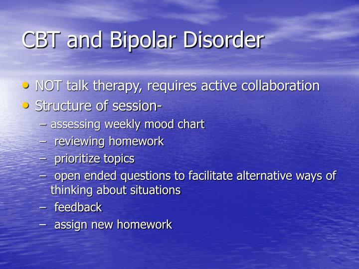 CBT and Bipolar Disorder