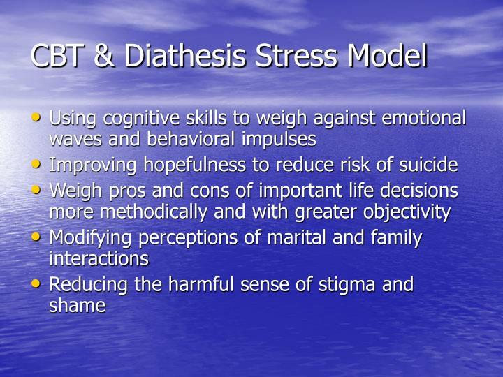 CBT & Diathesis Stress Model