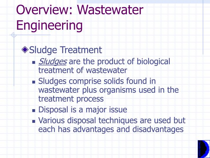 Overview: Wastewater Engineering