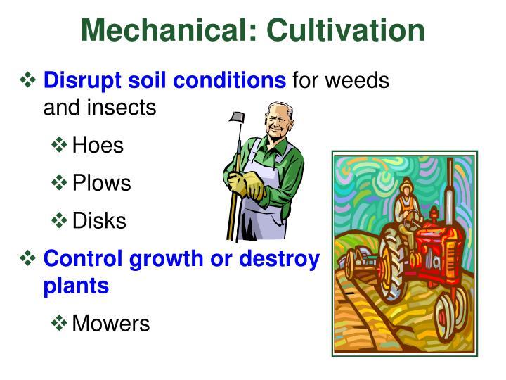 Mechanical: Cultivation