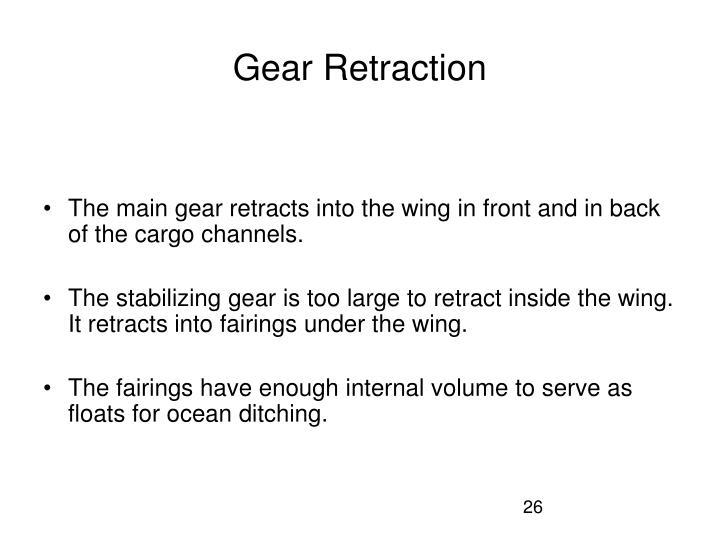 Gear Retraction