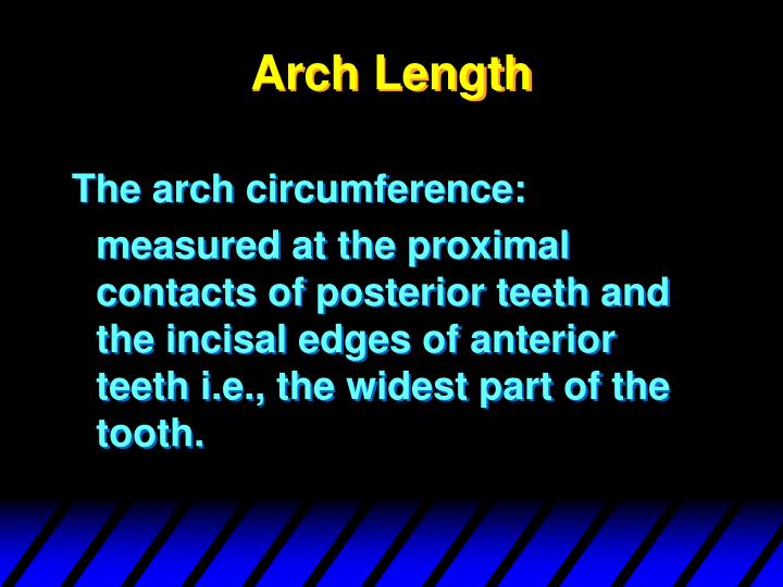 Arch Length