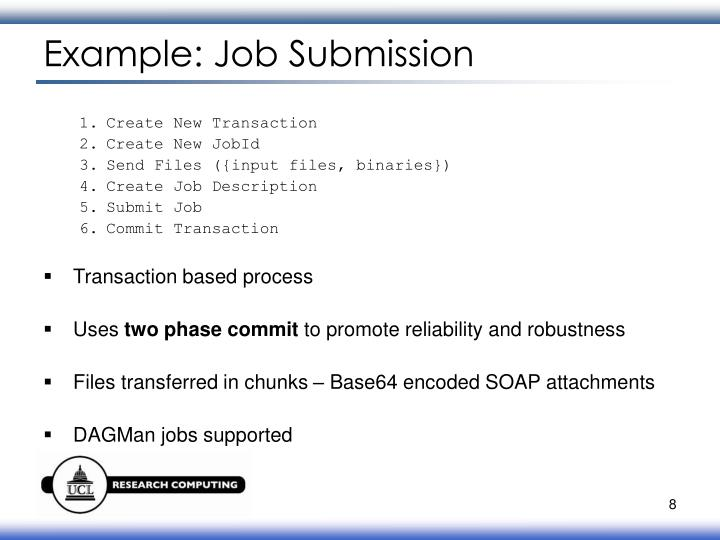 Example: Job Submission