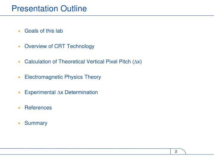 Goals of this lab
