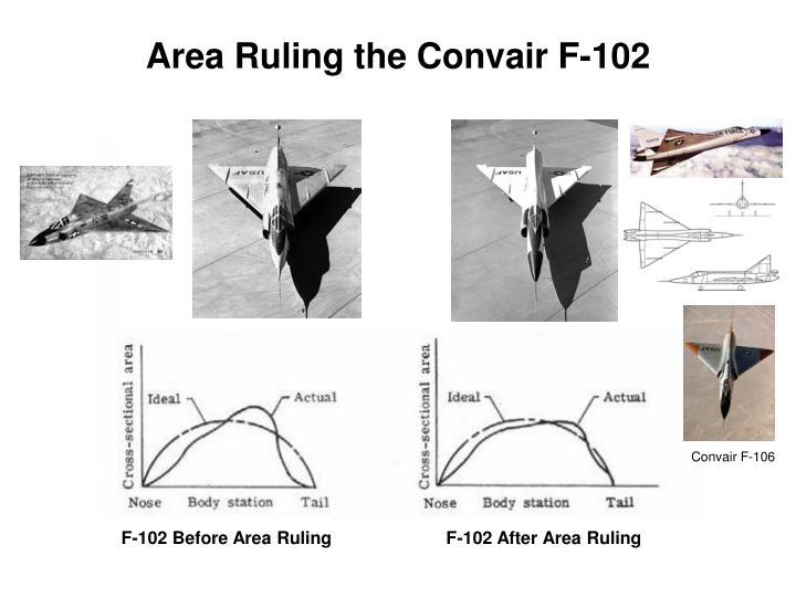 Area Ruling the Convair F-102