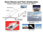 sonic booms and their amelioration toward a viable supersonic business jet ssbj