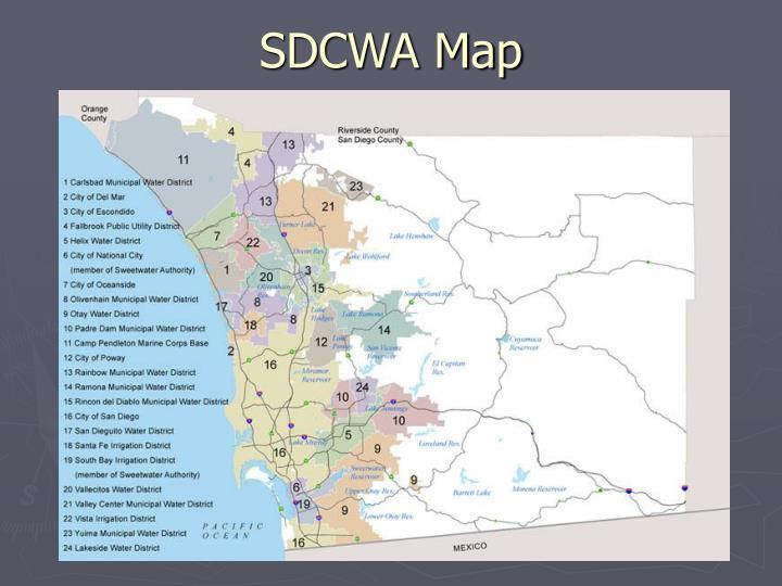 SDCWA Map
