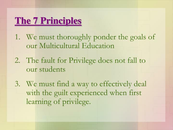 The 7 Principles