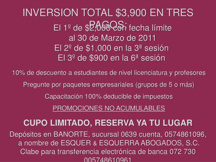 INVERSION TOTAL