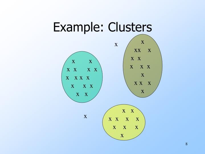 Example: Clusters