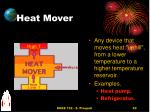 heat mover