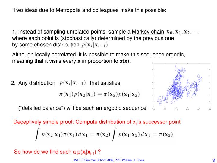 1. Instead of sampling unrelated points, sample a