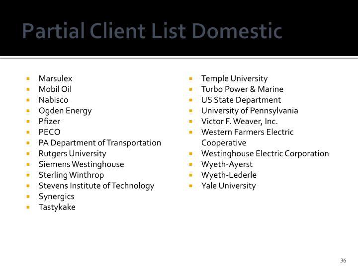 Partial Client
