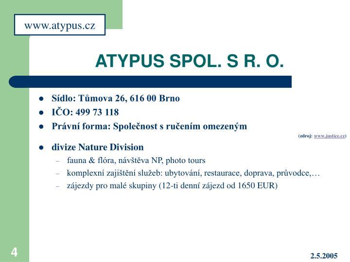 www.atypus.cz