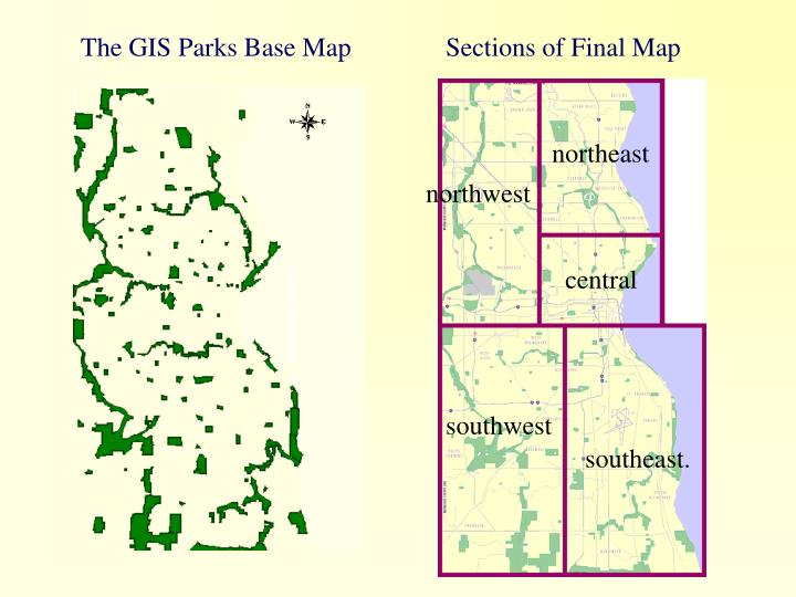 The GIS Parks Base Map