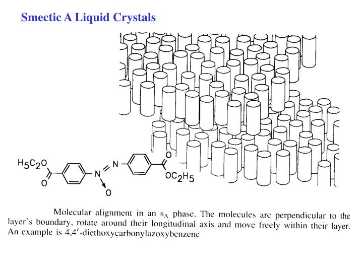 Smectic A Liquid Crystals