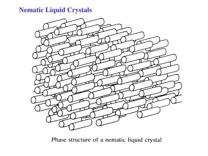 Nematic Liquid Crystals