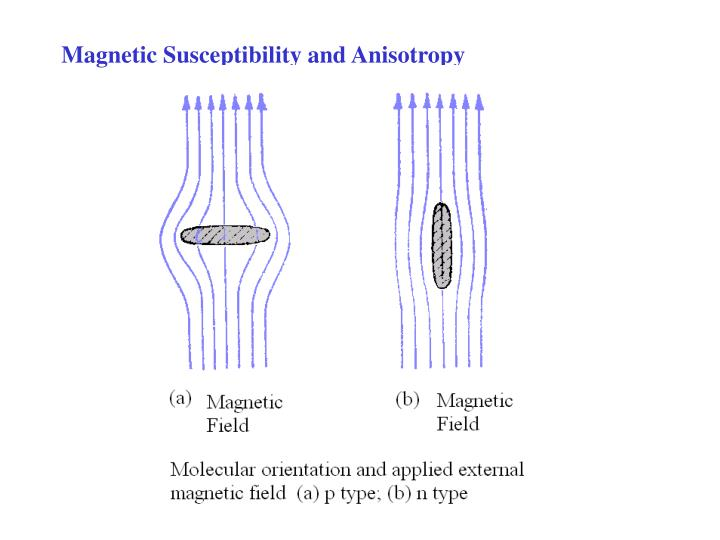 Magnetic Susceptibility and Anisotropy
