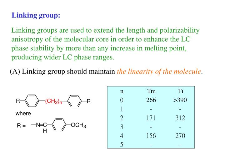 Linking group: