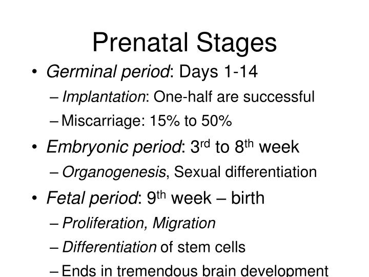 Sexual differentiation in fetuses
