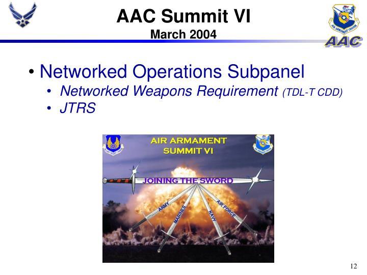 AAC Summit VI